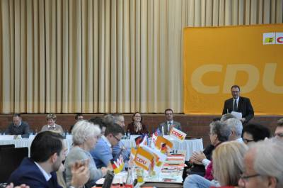 CDU-Kreisparteitag vom 10. November 2018 in Pfrondorf  -